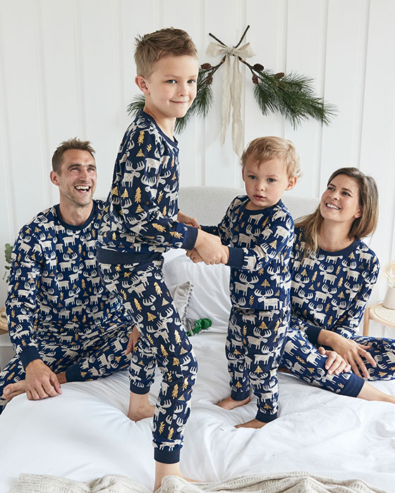 Matching Family Pyjamas